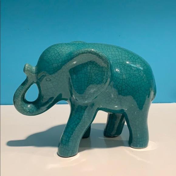 good luck glass antique elephant